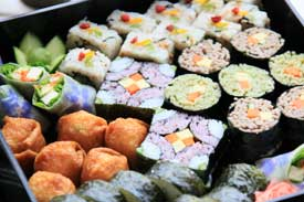 Sushi delivered to your door on Vancouver Island BC